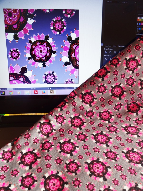 Cathrin Gressieker-suzani fabric