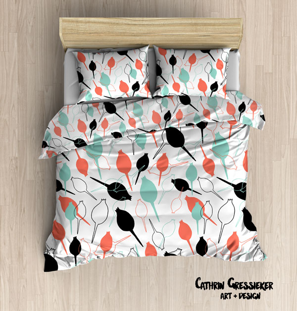 sophisticated buds bedding