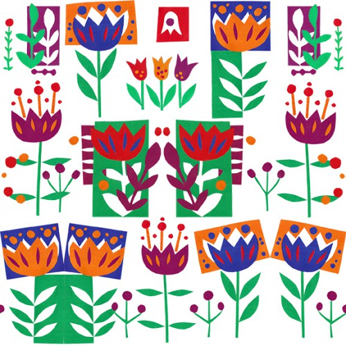 Cathrin Gressieker _Amsterdam in April pattern