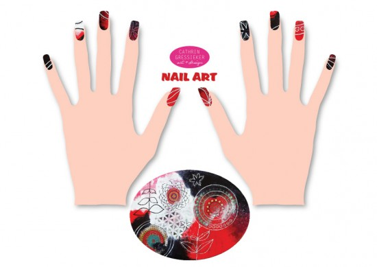 Cathrin Gressieker nail-art