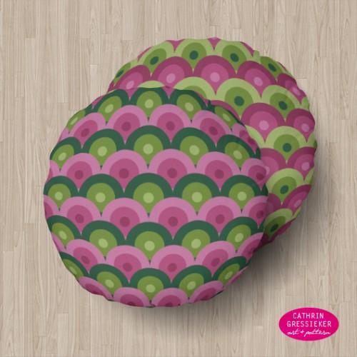 Cathrin Gressieker_lilac scallops pillows