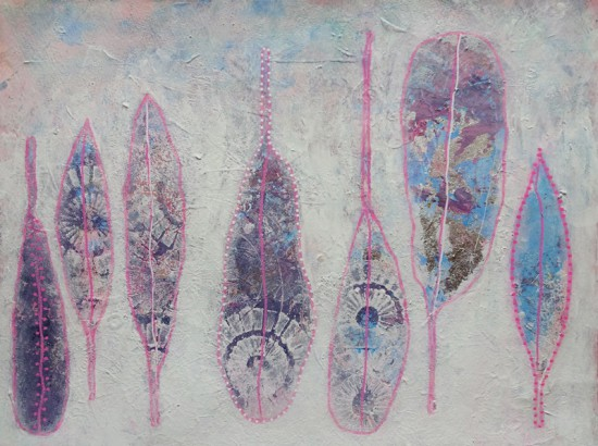 winter feathers_24x32
