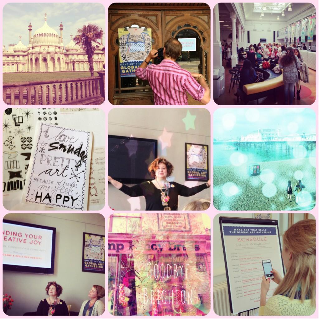 Cathrin Gressieker MATS Brighton collage