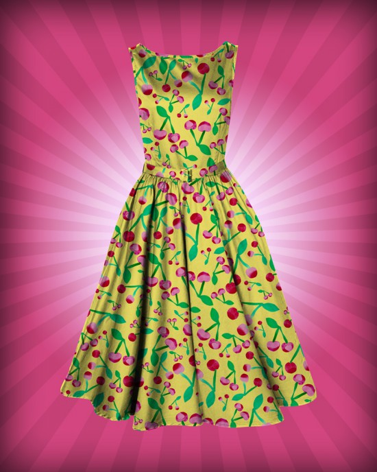 Cathrin-Gressieker_cherries_Frock-Dress-Design-Mockup