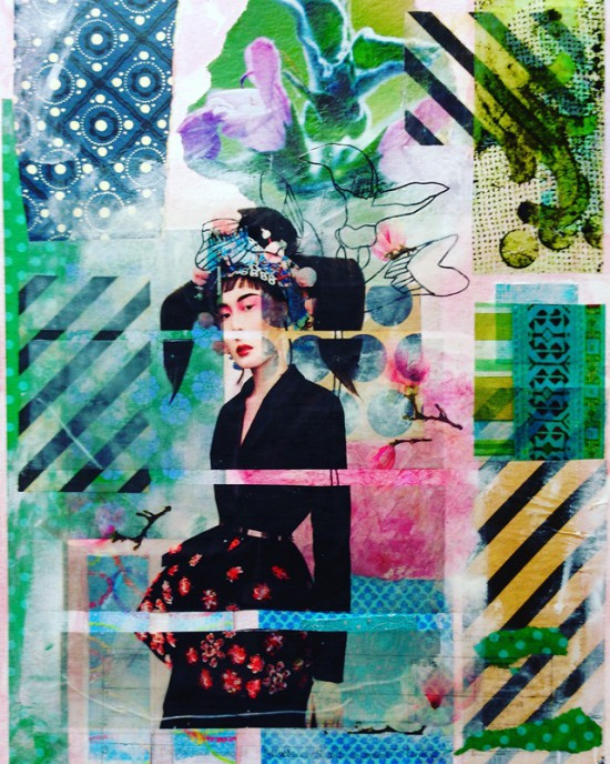 Cathrin Gressieker_modern geisha collage