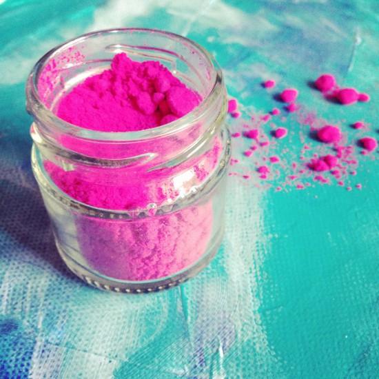 Cathrin Gressieker_pink pigment