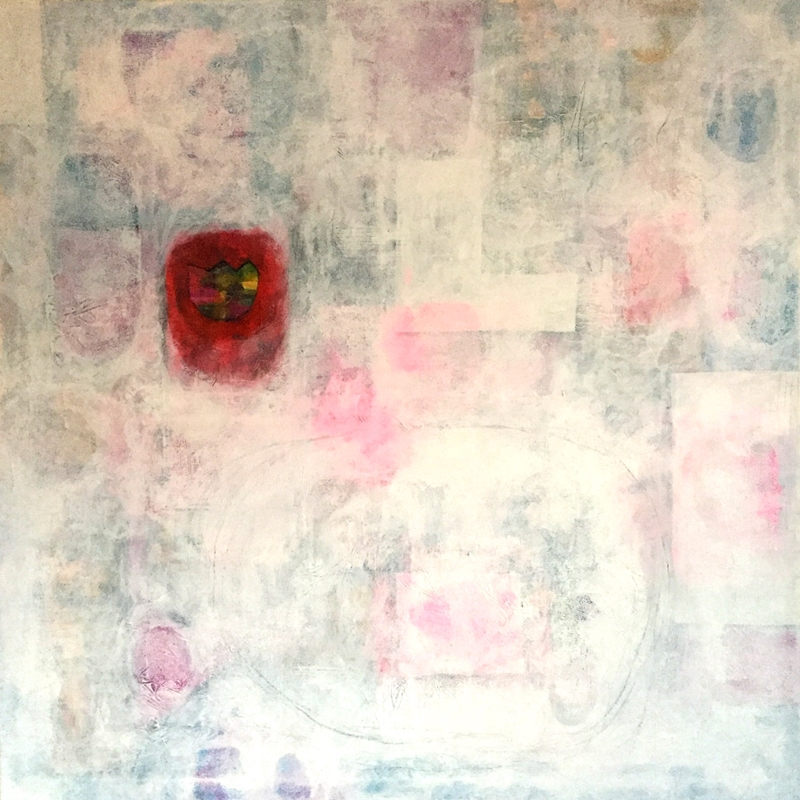 january heart 100x100cm