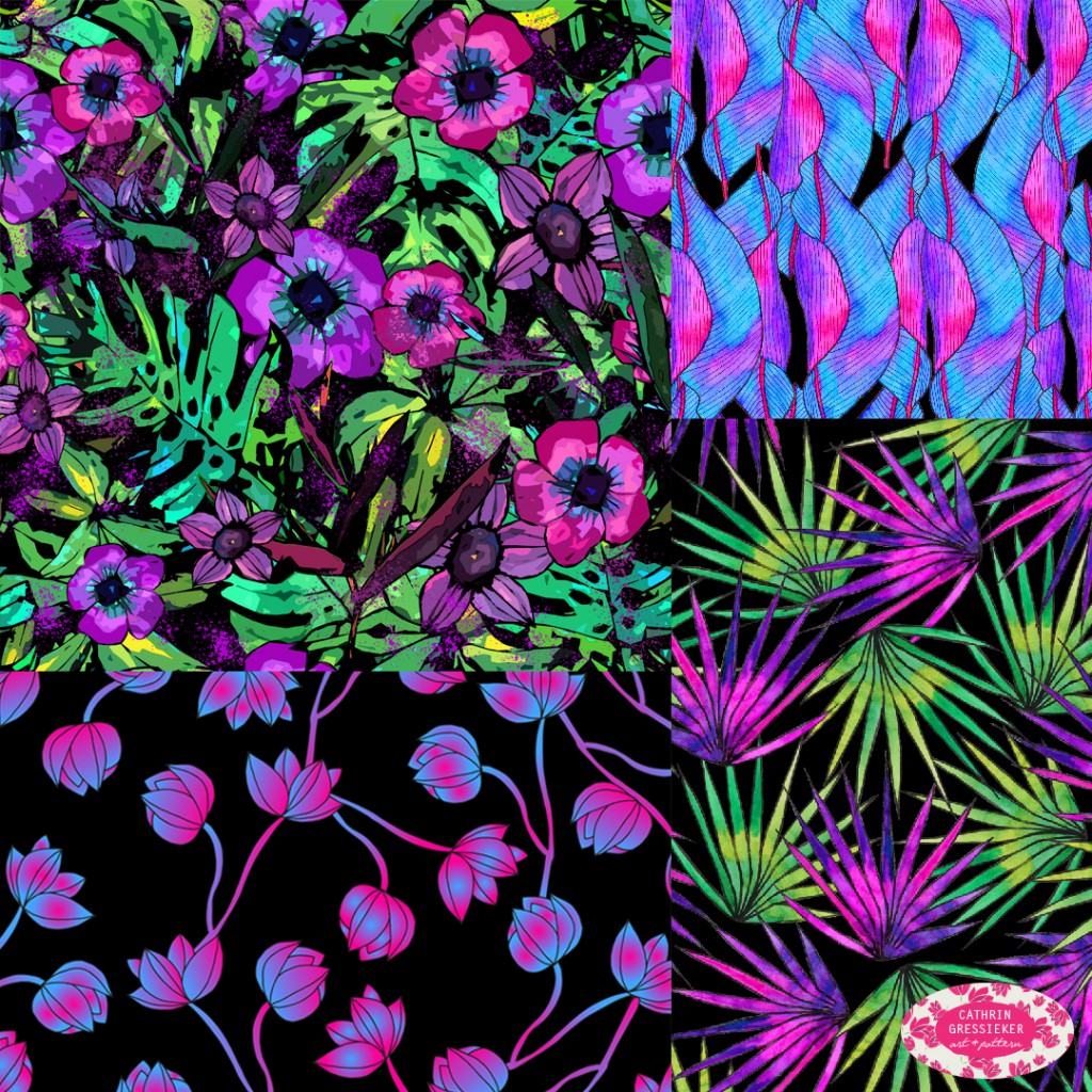 Pattern Observer_Cathrin Gressieker_Tropical Glow_lowres
