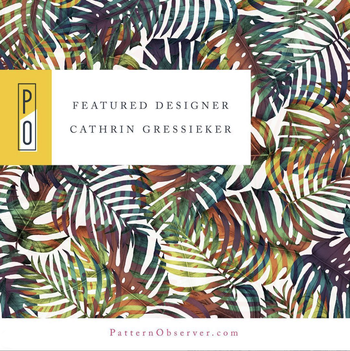Patternobserver_Featured Designer Cathrin Gressieker
